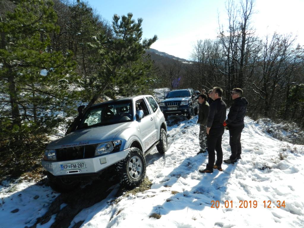 20 gennaio 2019, con il 3 Kraji sul monte Golic 20_gen22