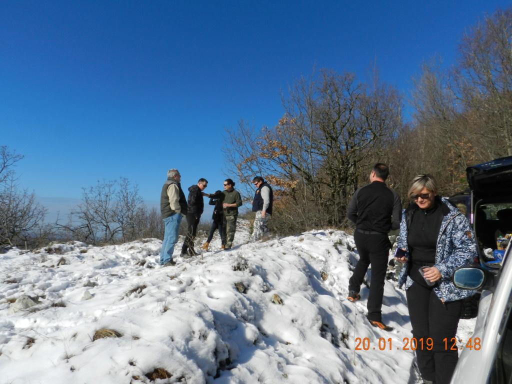 20 gennaio 2019, con il 3 Kraji sul monte Golic 20_gen23