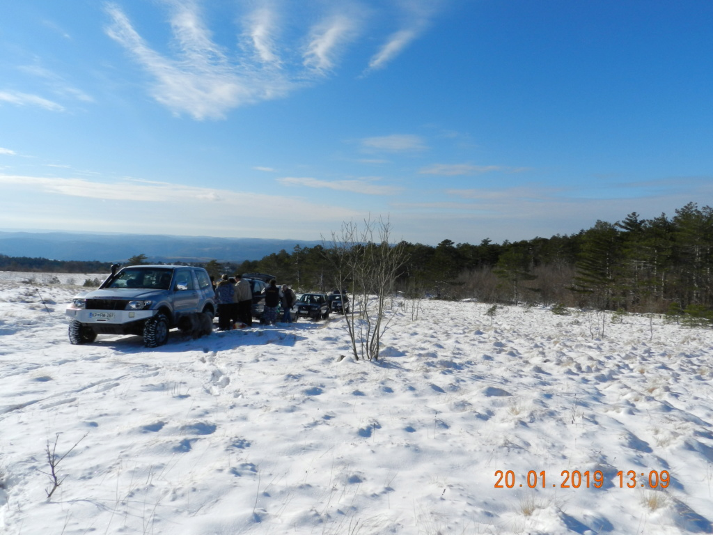 20 gennaio 2019, con il 3 Kraji sul monte Golic 20_gen26
