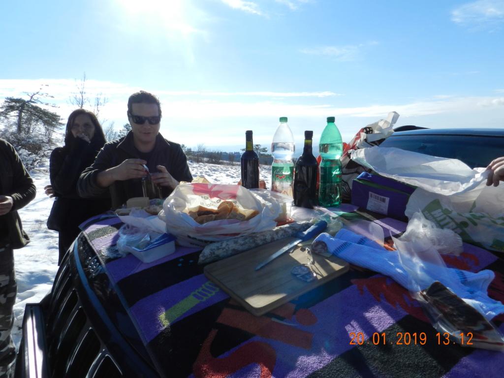 20 gennaio 2019, con il 3 Kraji sul monte Golic 20_gen29