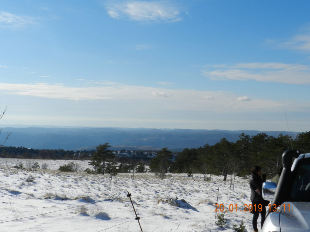 20 gennaio 2019, con il 3 Kraji sul monte Golic 20_gen30