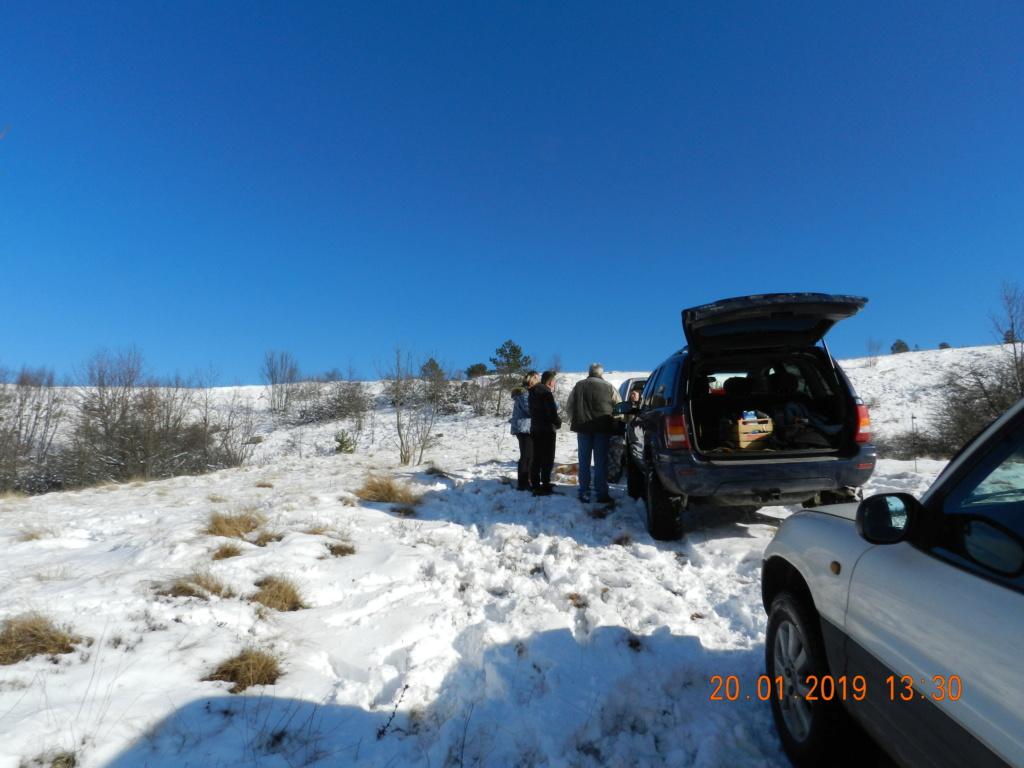 20 gennaio 2019, con il 3 Kraji sul monte Golic 20_gen33