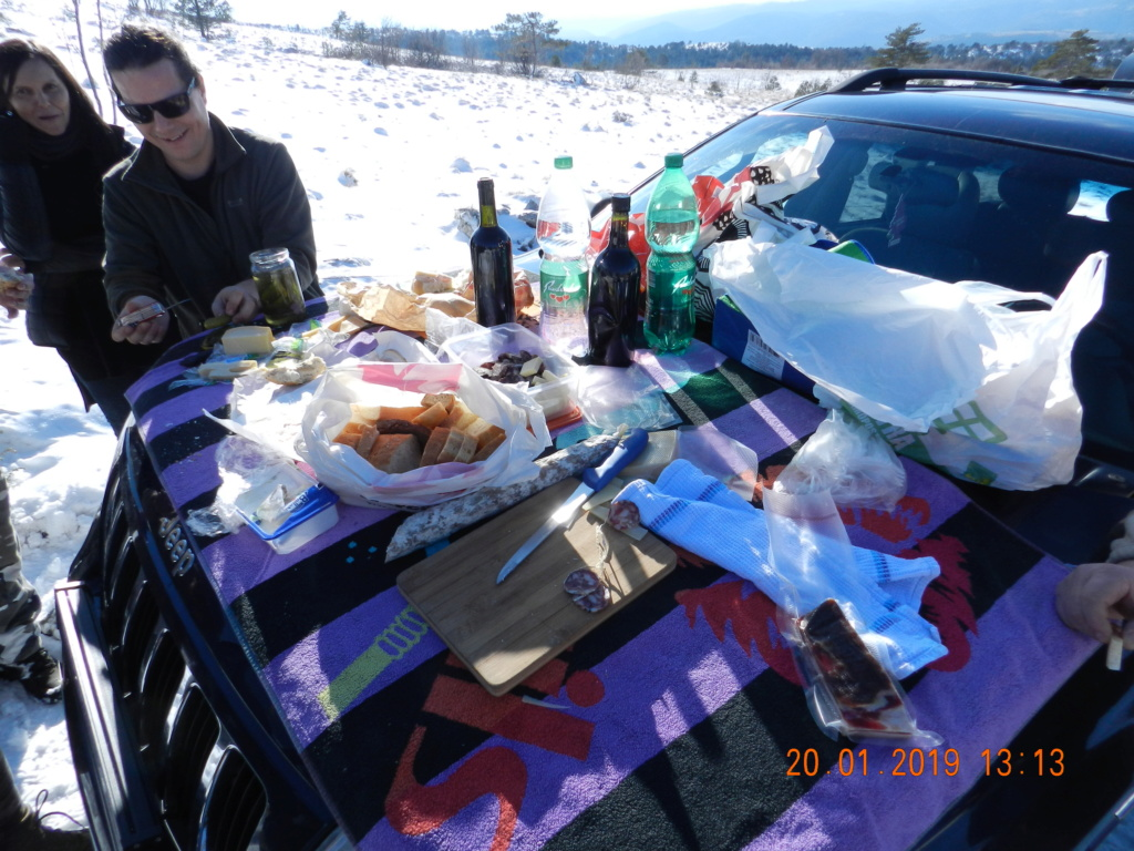 20 gennaio 2019, con il 3 Kraji sul monte Golic 20_gen37