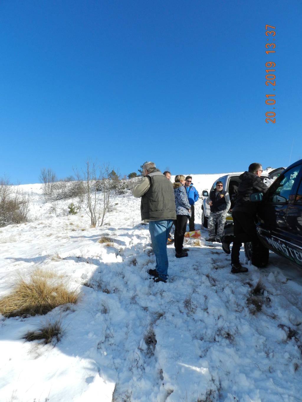 20 gennaio 2019, con il 3 Kraji sul monte Golic 20_gen39
