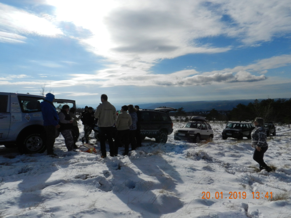 20 gennaio 2019, con il 3 Kraji sul monte Golic 20_gen41