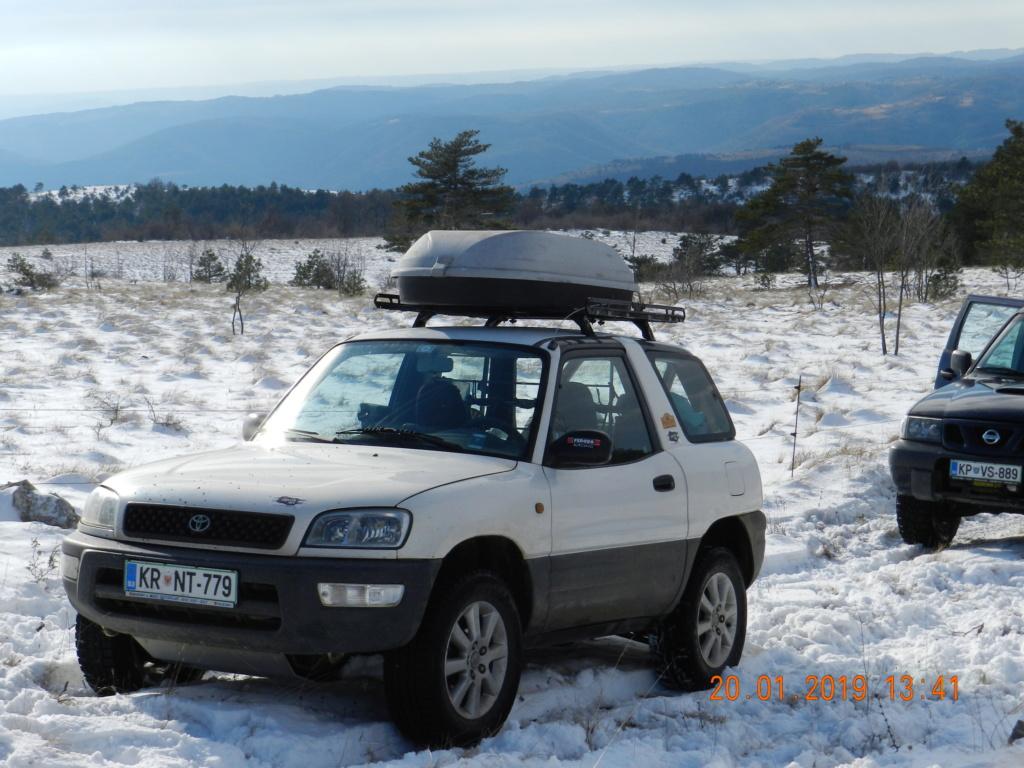 20 gennaio 2019, con il 3 Kraji sul monte Golic 20_gen42