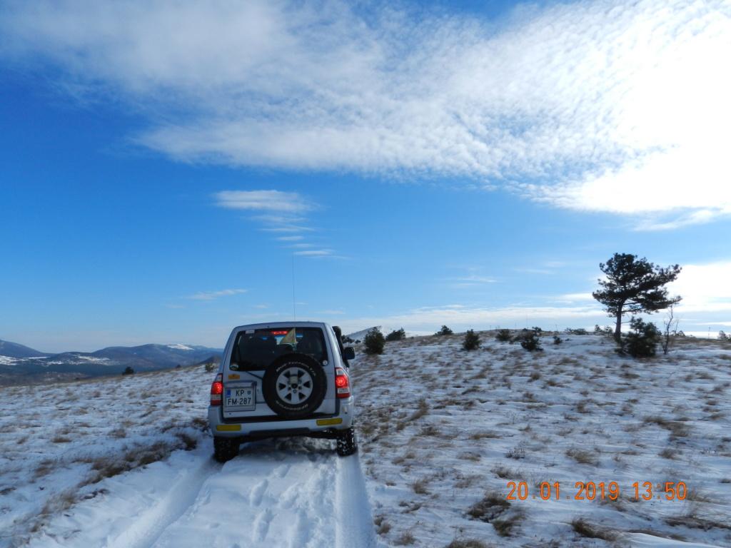 20 gennaio 2019, con il 3 Kraji sul monte Golic 20_gen43