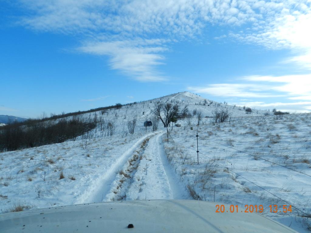 20 gennaio 2019, con il 3 Kraji sul monte Golic 20_gen46