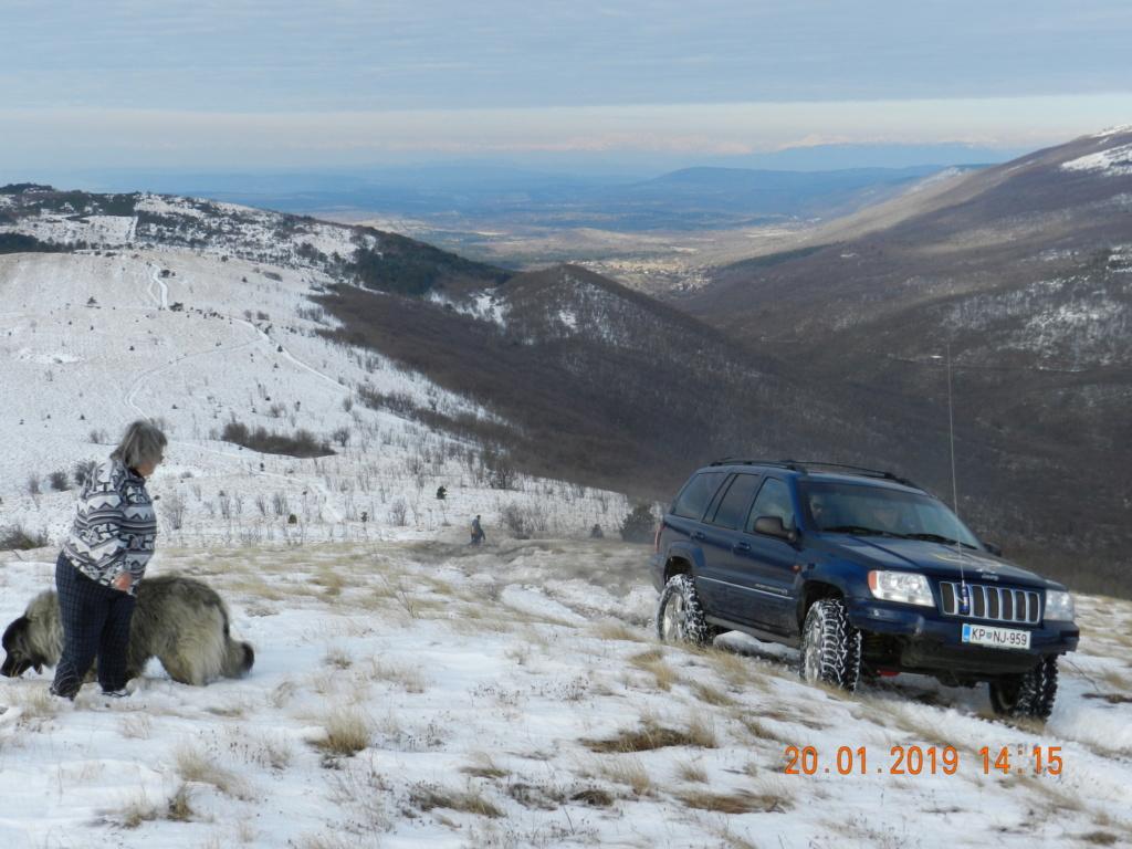 20 gennaio 2019, con il 3 Kraji sul monte Golic 20_gen48