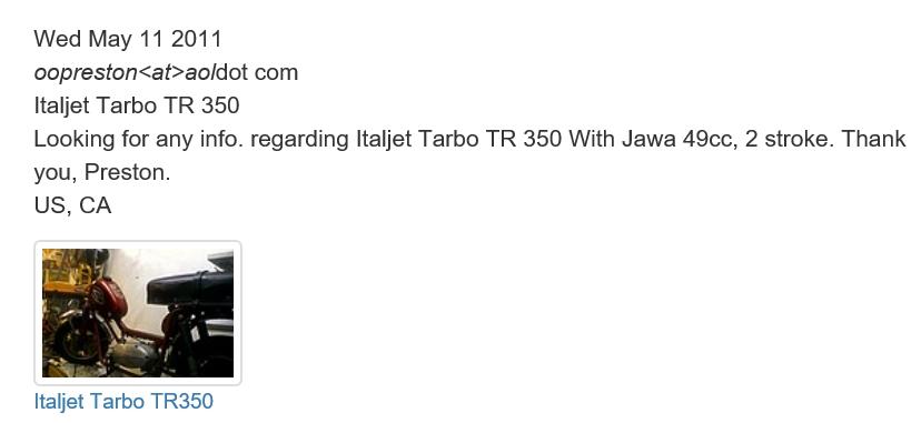 Tarbo TR350 moteur Jawa CZ Tarbo_10