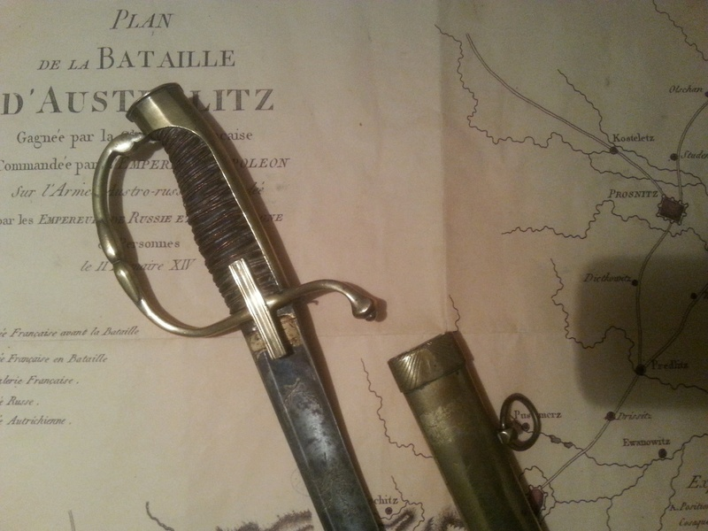 sabre d'officier de cavalerie légère - Consulat 20161236