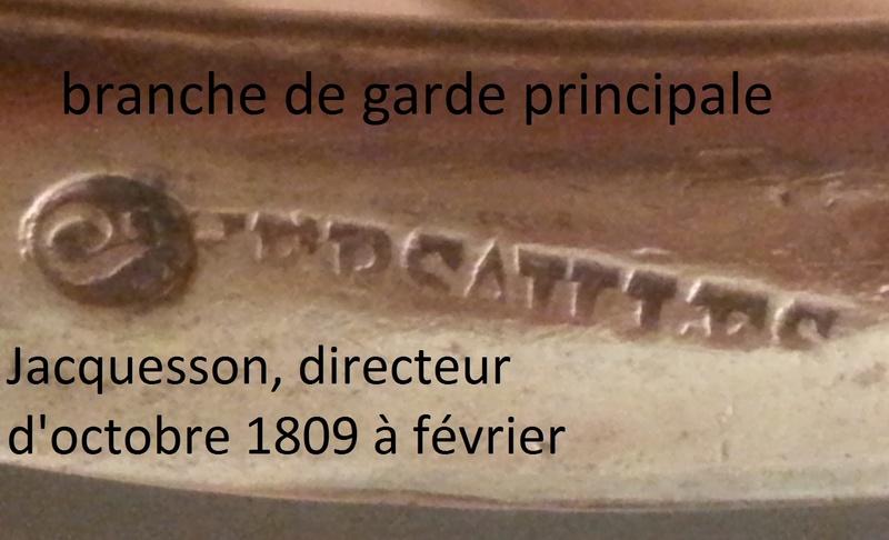 sabre an XI de cavalerie légère Branch10