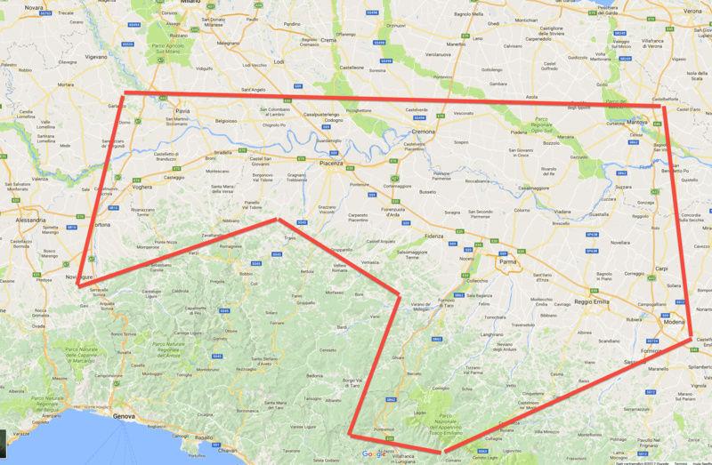 Incontro nord ovest edit Lunigiana-Garfagnana 8/4/2017 Mappa10
