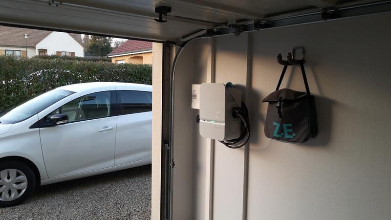 Pose wallbox 7 kW par Proxiserve 20161110