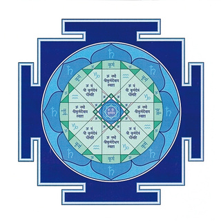 Янтра Сатурна для медитации  Yantra11
