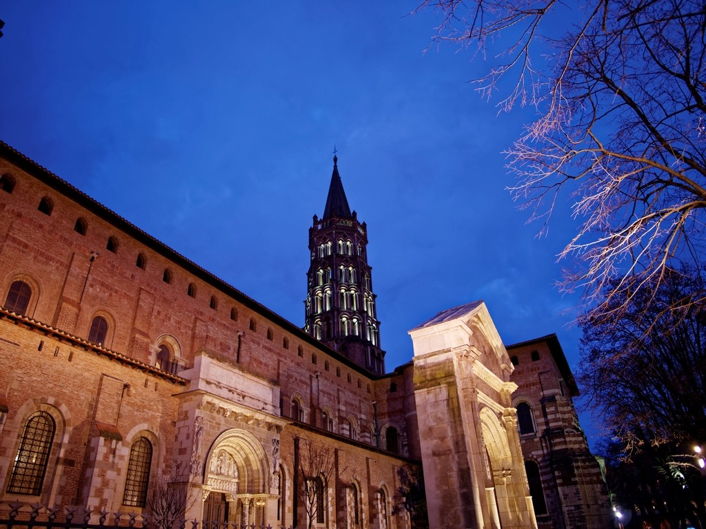 Saint Sernin by night P1010821