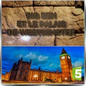 Big Ben et le palais de Westminster. Big-be10