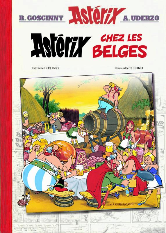 Astérix chez les Belges version Luxe  B10