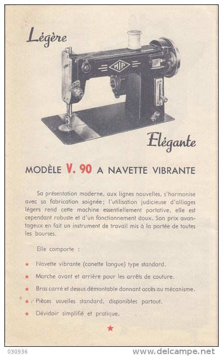 """SPRING à navette vibrante (marque de distributeur, grand magasin parisien """"Au Printemps"""") Mipv9010"""