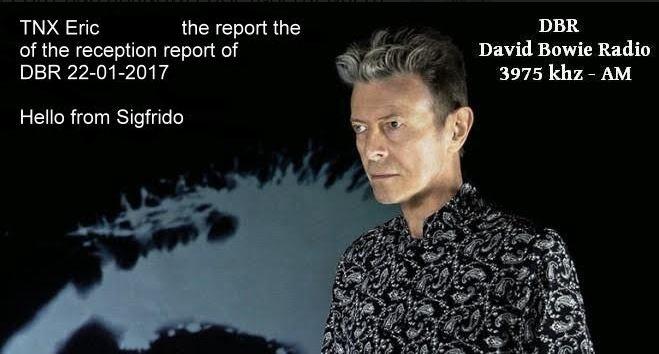 eQSL de David Bowie Radio  Dbr10