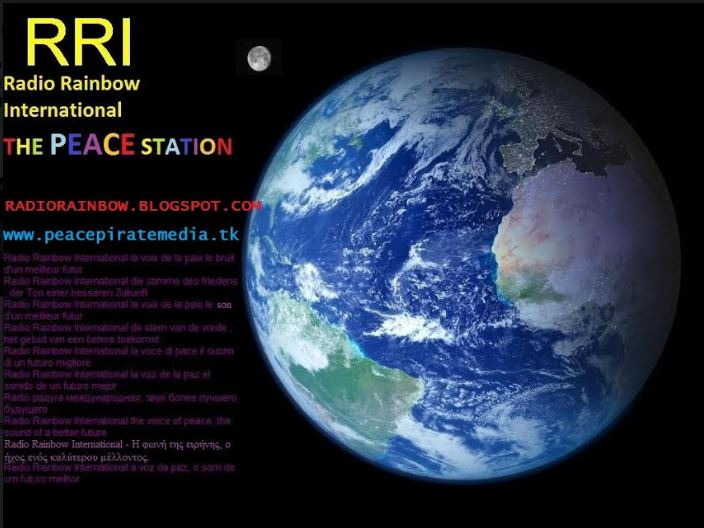 QSL Pirate Radio Rainbow Rainbo10