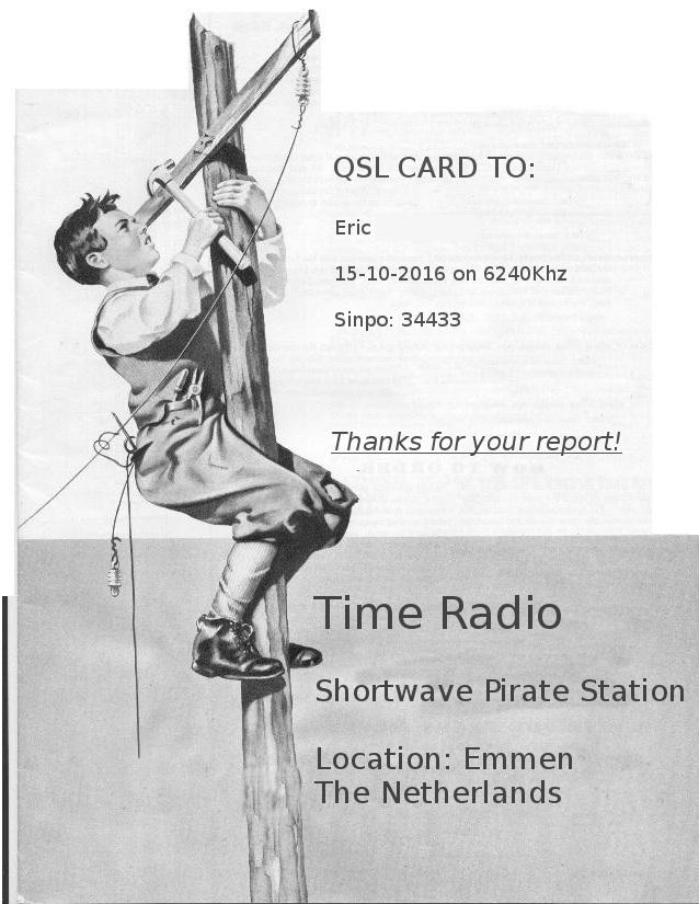 eQSL de TIME RADIO Time10