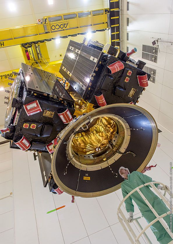 Lancement Ariane 5 ES VA233 / GALILEO (x4) - 17 novembre 2016 110