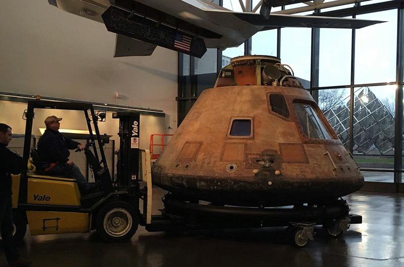 Restauration de Columbia - Apollo 11. 184
