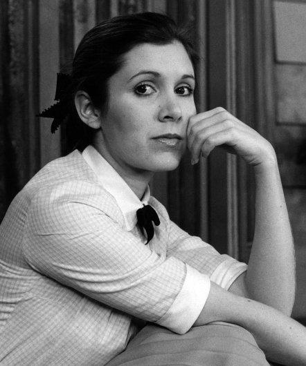 Décès de Carrie Fisher (princesse Leïa - Star Wars) 1956 - 2016 412