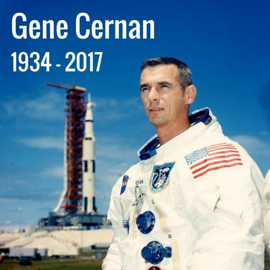 Eugene Cernan (1934 - 2017) Scree132