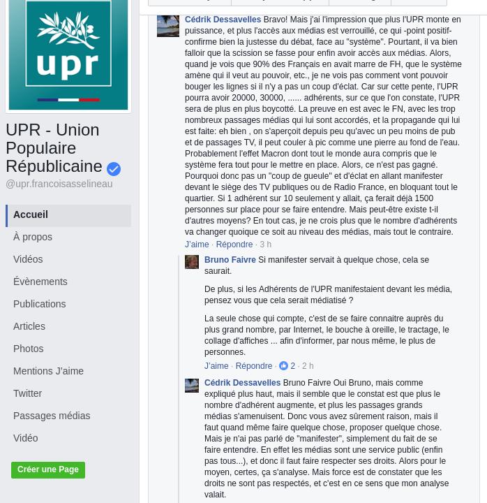 J'ai proposé à l'UPR d'organiser une manifestation devant les médias, il est peut être possible que j'ai réussi à convaincre l'UPR. Screen12