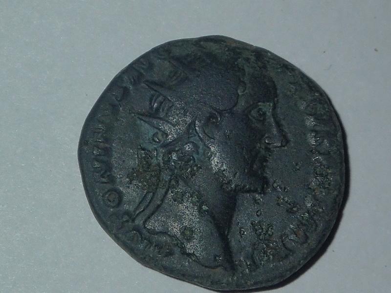 Dupondius Antonin le Pieux TR POT XXI COS IIII  (Annona) Pc112518