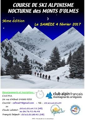 Course de Ski Alpinisme Nocturne des Monts d'Olmes 2017_c10