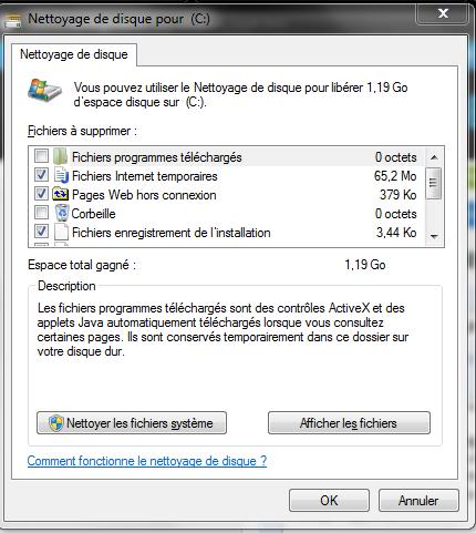 Tutoriel Comment nettoyer son HDD sous Windows 10  Comman15