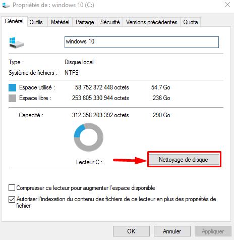 Tutoriel Comment nettoyer son HDD sous Windows 10  Nettoy12