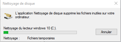 Tutoriel Comment nettoyer son HDD sous Windows 10  Nettoy14
