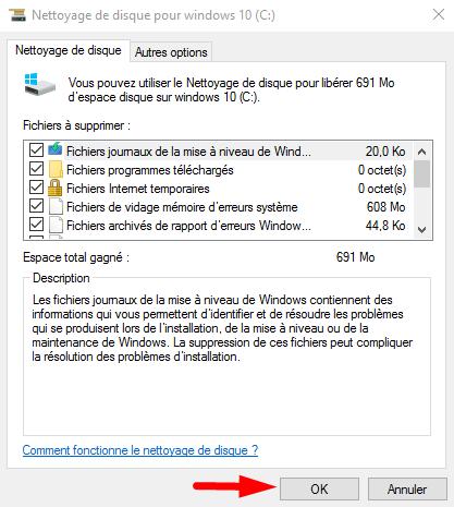Tutoriel Comment nettoyer son HDD sous Windows 10  Nettoy16