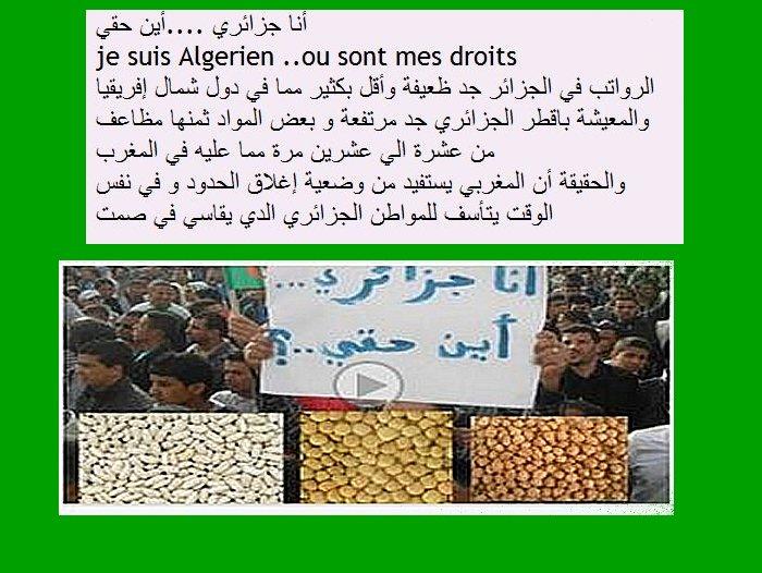 algerie - je suis Algerien ..ou sont mes droits أنا  جزائري  ....أين حقي Captur12