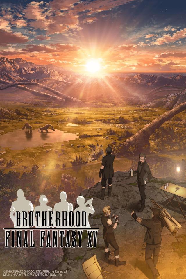 Brotherhood Final Fantasy XV Cover10