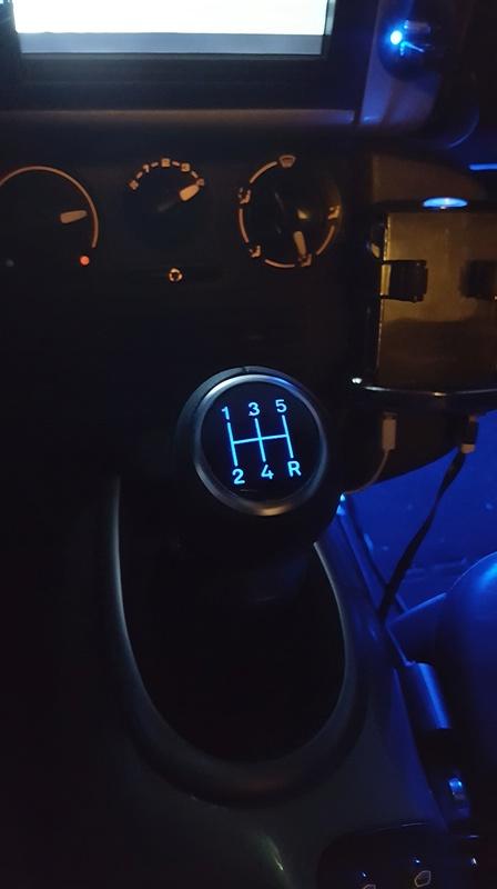 Comment installer un pommeau de vitesse avec LED - Boxster 986 - Tutoriel Paumo10