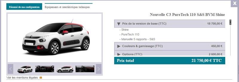 2016 - [Citroën] C3 III [B618] - Page 17 Captur10