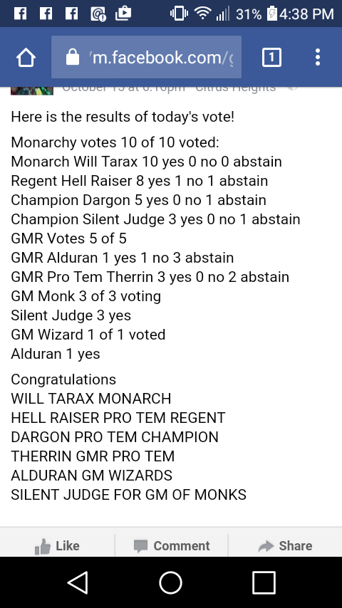 Elections from October 15 Screen10