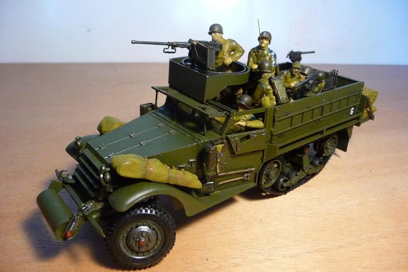 TAMIYA 1/35 -  Half TRACK  M3A2 P1070121
