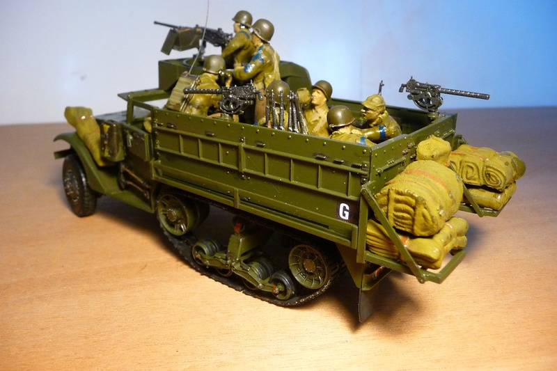 TAMIYA 1/35 -  Half TRACK  M3A2 P1070123