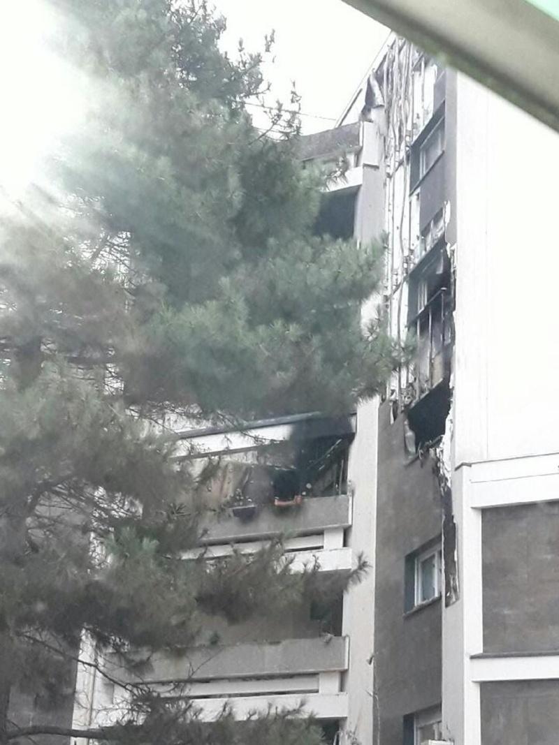 Incendie aux Maillard Jean Zay - Isolation extérieure des bâtiments Incend10