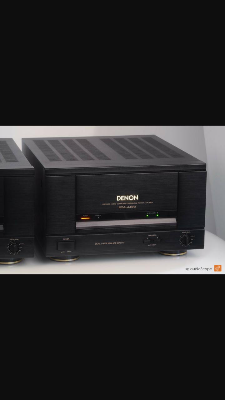 Denon POA 4400 Monoblock  Screen10