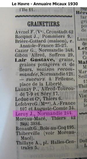 Havre - famille LEROY LE HAVRE Micaux12