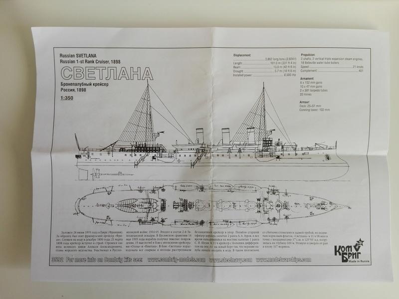 Croiseur Protégé Svetlana 1898 1/350 Img_2027