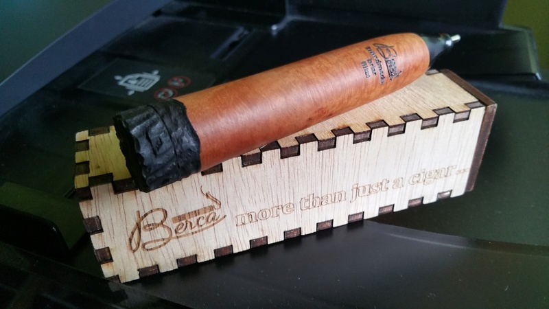 échange Briar cigar Berca 9 mm 20170115