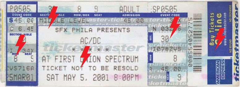 2001 / 05 / 05 - USA, Philadelphia, First Union Spectrum 05_05_11